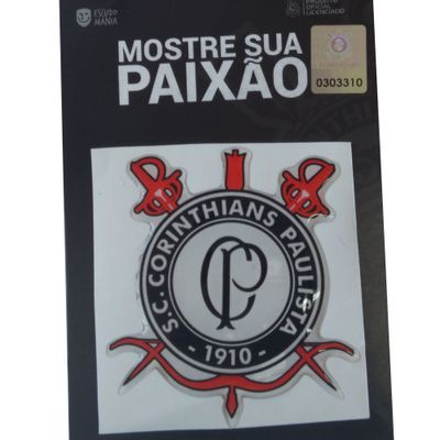 Adesivo Corinthians Escudo CP - Escudo Mania - marquinhom 6df8120a2b8aa