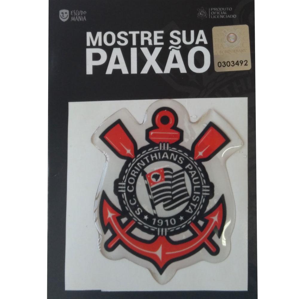 281671375907c Descrição do produto. Adesivo Corinthians Escudo Original - Escudo Mania