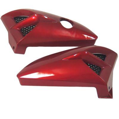 Aba de Tanque YBR 125 2005 até 2008 Vermelho - Sportive