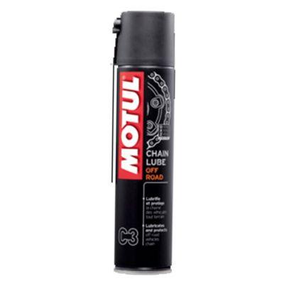 Spray Graxa para Corrente Chain Lube Off Road C3 400ml - Motul