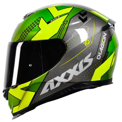 Capacete-Axxis-Eagle-Diagon-Verde-Amarelo